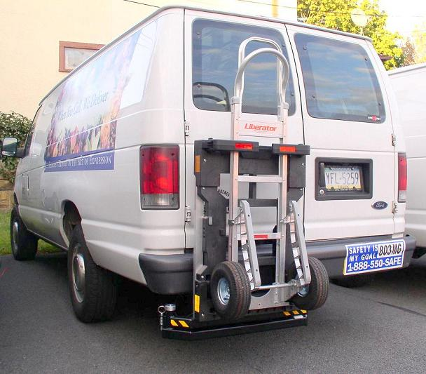Ford E250 commercial cargo van - HTS-20S Ultra-Rack