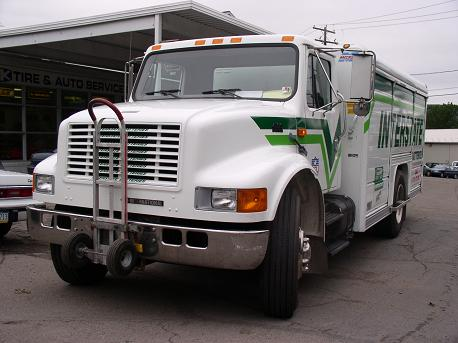 Interstate Batteries Navistar delivery truck