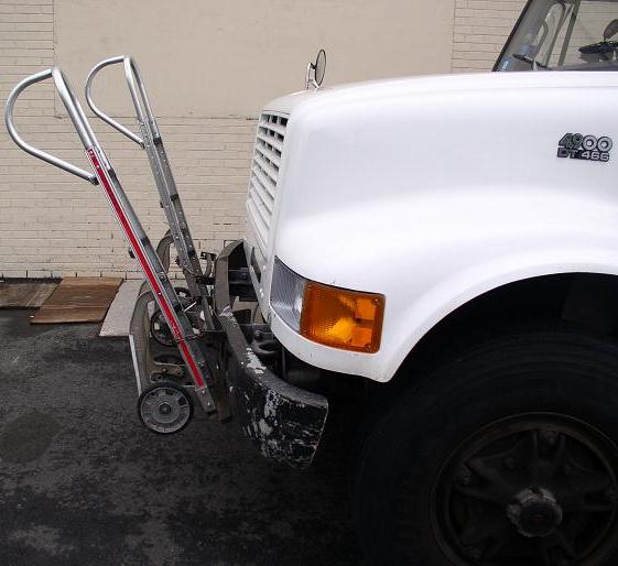 Double Trouble  Magliner hand trucks not secured safely