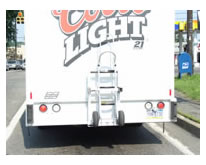 Coors Light beverage truck