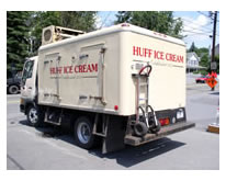 Johnson's Refrigerated Truck Bodies  Huff Ice Cream